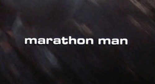 Marathon Man Title Treatment