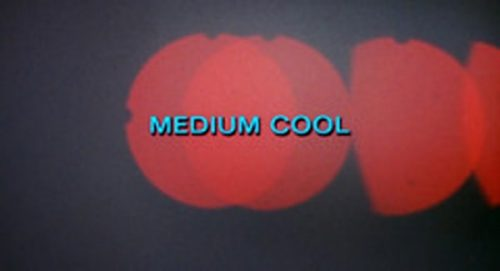 Medium Cool Title Treatment