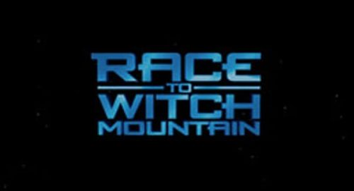 Race to Witch Mountain Title Treatment