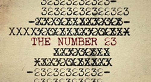 The Number 23 Title Treatment