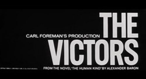 The Victors Title Treatment