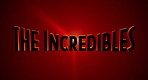 The Incredibles Title Treatment