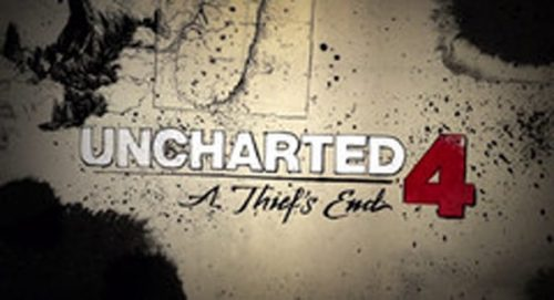 Uncharted 4 Title Treatment