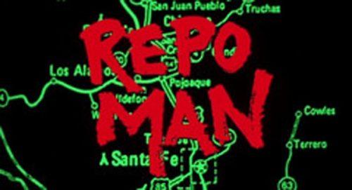 Repo Man Title Treatment