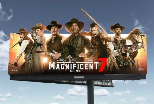Tynell Marcelline – Magnificent 7 – Key Art OOO Billboard