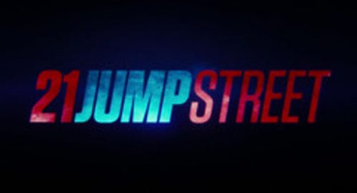 21 Jump Street Title Treatment