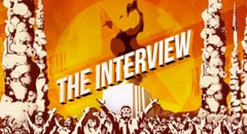 The Interview Title Treatment