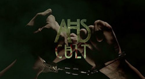 American Horror Story Cult Title Treatment