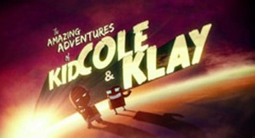 The Amazing Adventures of Kid Cole and Klay Title Treatment