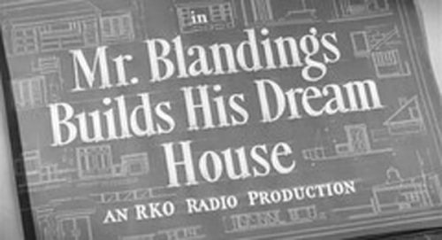 Mrs. Blandings Builds His Dream House Title Treatment