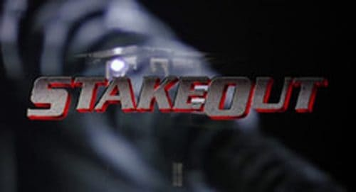 Stakeout Title Treatment