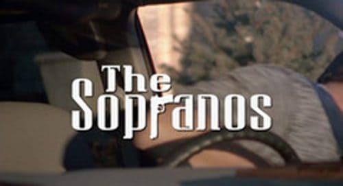 The Sopranos Title Treatment