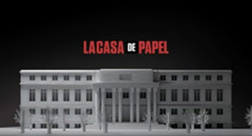 La Casa De Papel Title Treatment