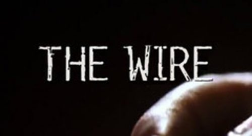 The Wire Title Treatment