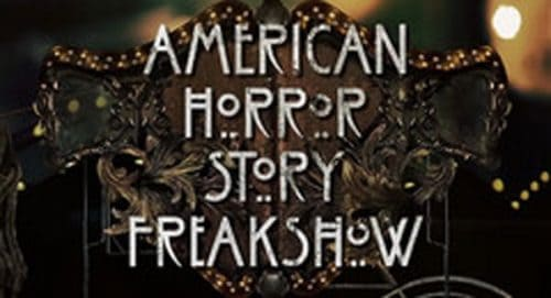 American Horror Story Freakshow Title Treatment