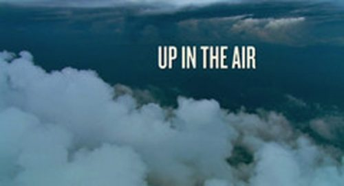 Up In the Air Title Treatment