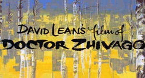 Doctor Zhivago Title Treatment