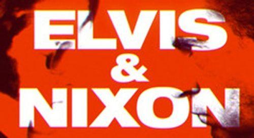 Elvis and Nixon Title Treatment