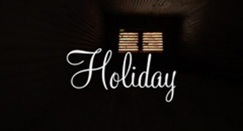 Holiday Title Treatment