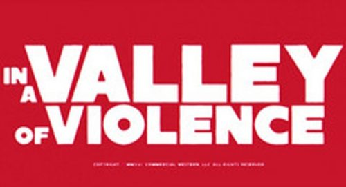 In a Valley of Violence Title Treatment