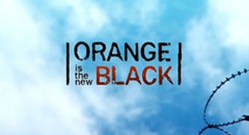 Orange is the New Black Title Treatment