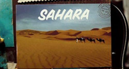 Saharah Title Treatment