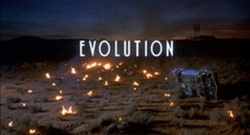 Evolution Title Treatment