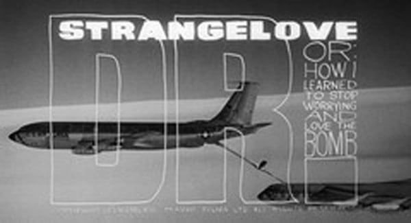 Dr. Strangelove Title Treatment