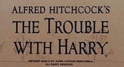 The Trouble with Harry Title Treatment