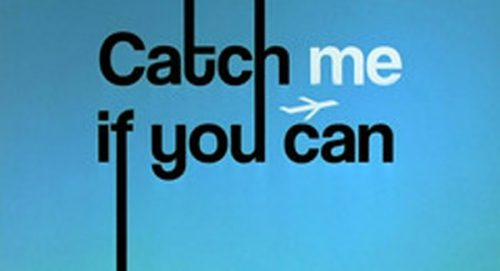 Catch Me If You Can Title Treatment