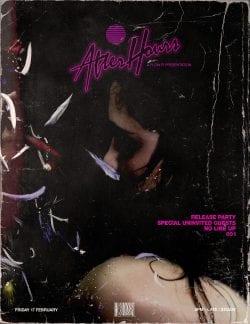 Ananthu Nair – Concert Poster : Flyer Distressed Grunge Design 003