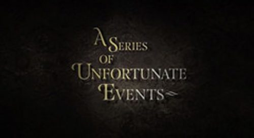 A Series of Unfortunate Events Title Treatment