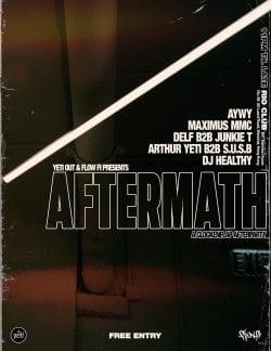 Ananthu Nair – Concert Poster : Flyer Distressed Grunge Design 006