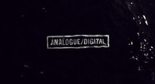 Analogue Digital Title Treatment