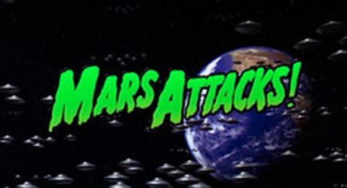 Mars Attacks Title Treatment