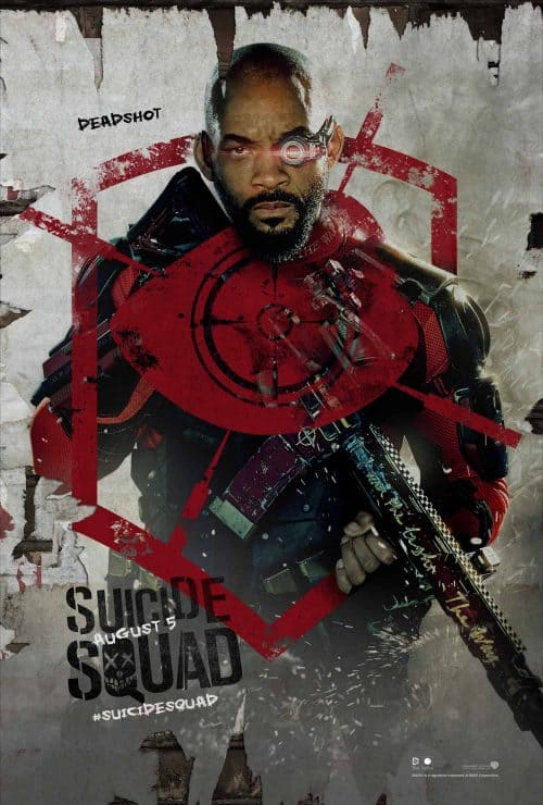 Tynell Marcelline – Suicide Squad – Will Smith – Key Art