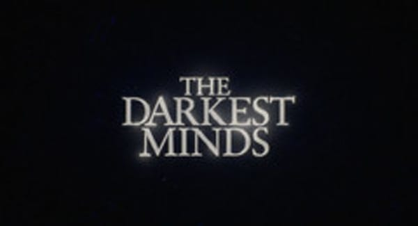 The Darkest Minds Title Treatment