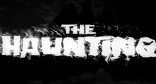 The Haunting Title Treatment