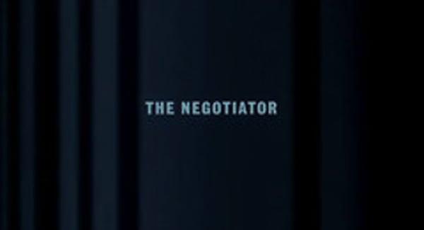 The Negotiator Title Treatment