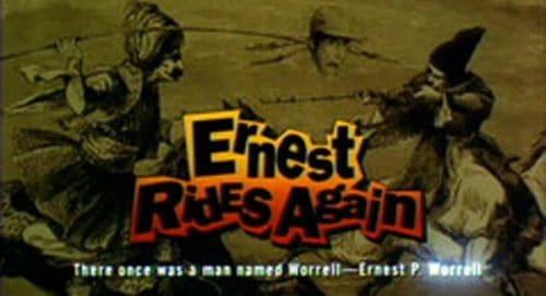 Ernest Rides Again Title Treatment