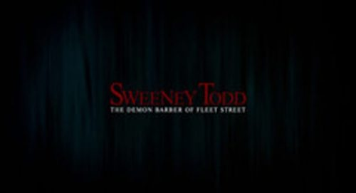 Sweeney Todd Title Treatment