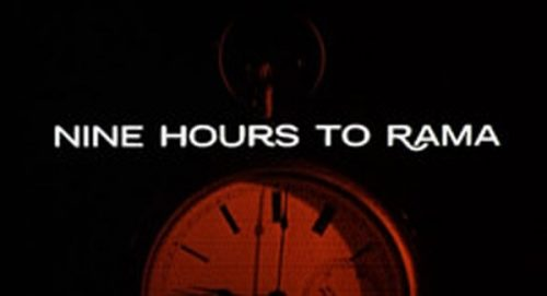 Nine Hours to Rama Title Treatment