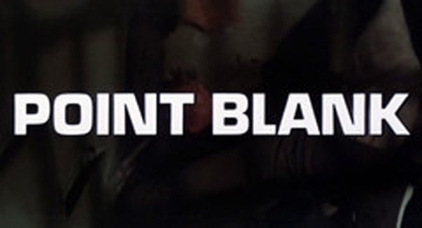 Point Blank Title Treatment