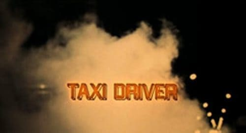Taxi Driver Title Treatment