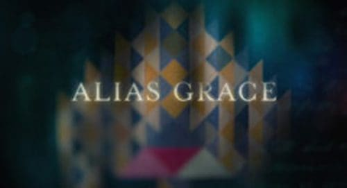 Alias Grace Title Treatment