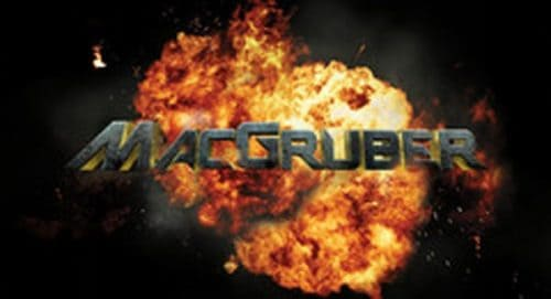 MacGruber Title Treatment