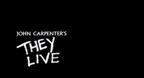 John Carpenters They Live Title Treatment