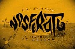 Nosferatu Title Treatment