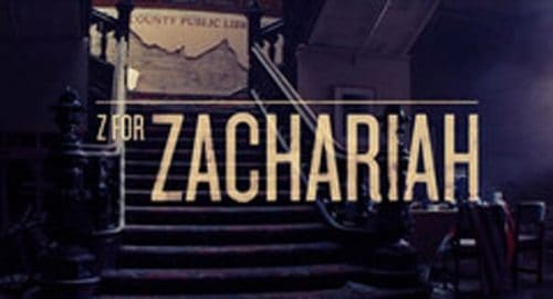 Zachariah Title Treatment