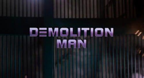 Demolition Man Title Treatment
